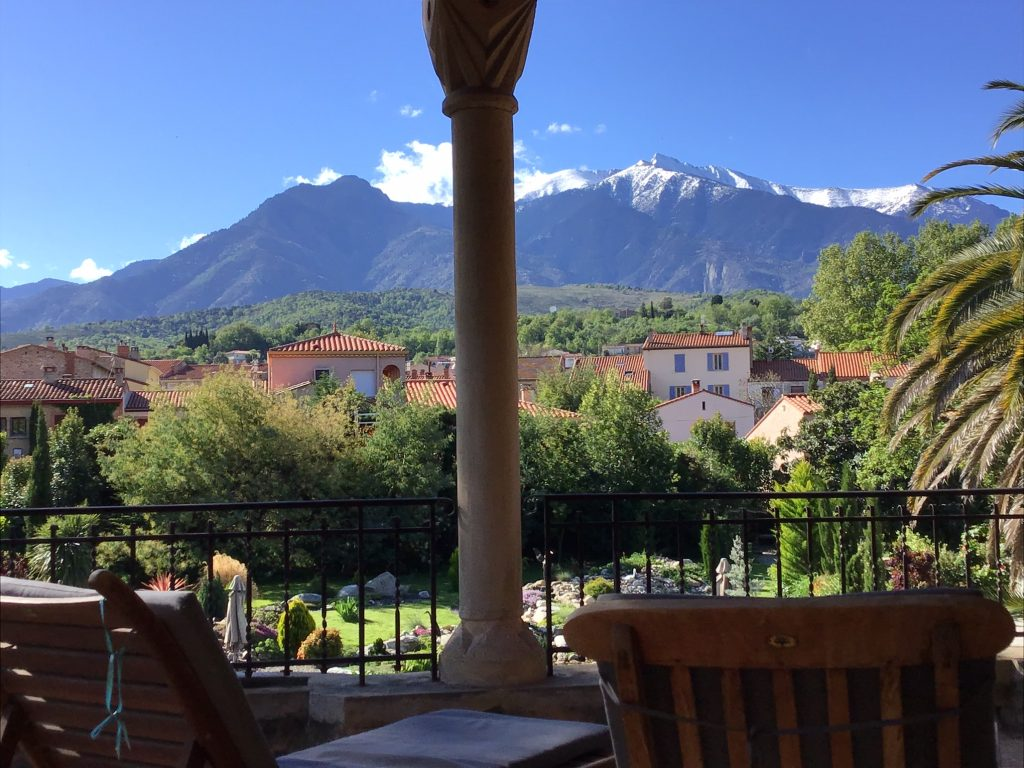 View from Canigou room terrace