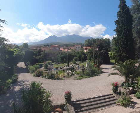 view from canigou room